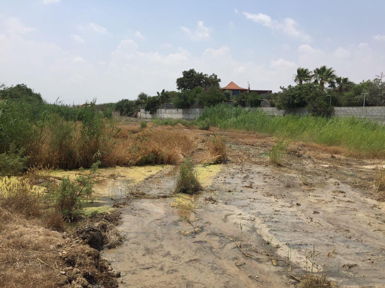 Χαώδης η κατάσταση κατά μήκος του ποταμού Λιβαδιών Λάρνακας