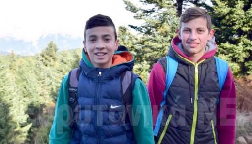 16χρονοι μαθητές βρήκαν πορτοφόλι με 4500 ευρώ και το παρέδωσαν στην Αστυνομία
