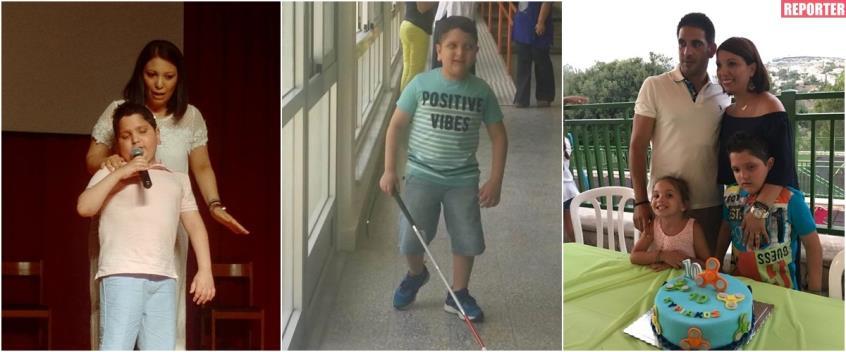 Ο όγκος, η τύφλωση, ο Γολγοθάς και τα μαθήματα ζωής του 12χρονου Κυριάκου