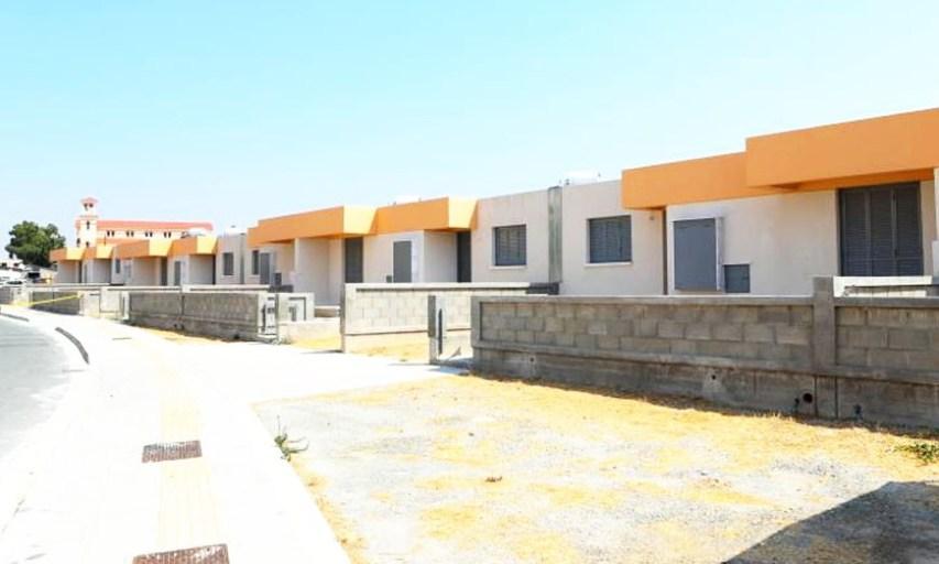 Παραδόθηκαν στον Κυβερνητικό Οικισμό Τσιακκιλερό στη Λάρνακα οκτώ κατοικίες