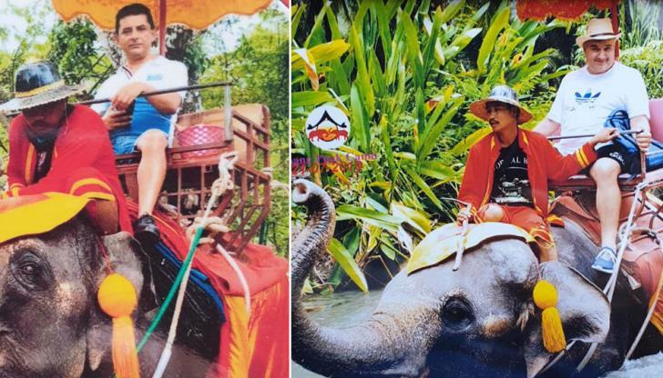 Φίλιος και Χάρης της ΠΟΕΔ βγήκαν βόλτα με… ελέφαντες (εικόνες)