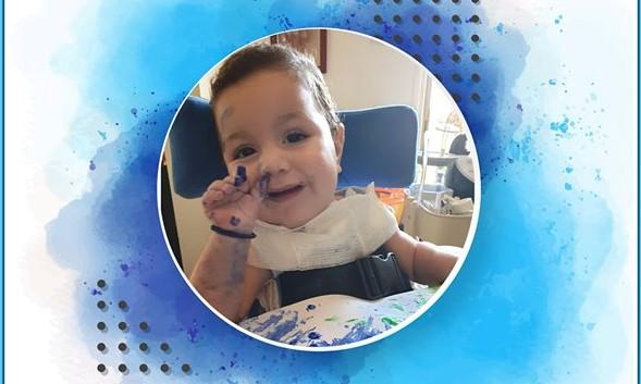 Ο μικρός Αντώνης χρειάζεται την βοήθεια μας για την θεραπεία του που κοστίζει 2 εκ.