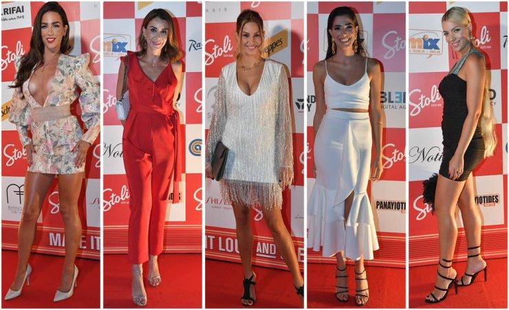 ΛΑΡΝΑΚΑ : Ποιοι επώνυμοι περπάτησαν στο κόκκινο χαλί των Stoli Original Bar & Club Awards 2018