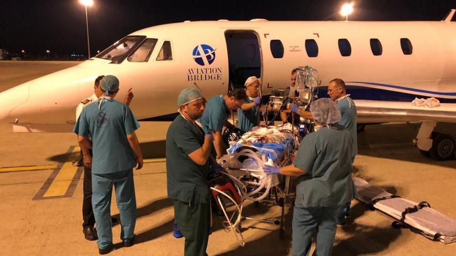 Ισραηλινοί γιατροί έσωσαν τη ζωή Κύπριας που είχε επιπλοκή μετά τον τοκετό(ΦΩΤΟ)