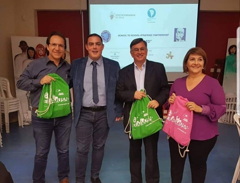Πέντε εταιρικά σχολεία στο Παγκύπριο Λύκειο Λάρνακας για το Ευρωπαϊκό Πρόγραμμα Erasmus