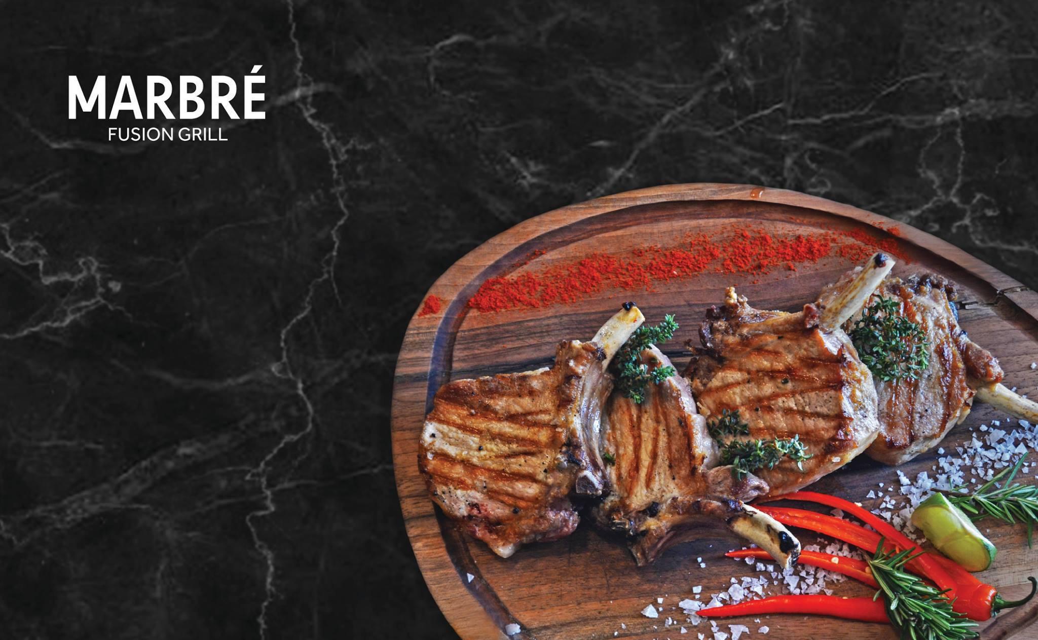 Πάμε για ένα ρεσιτάλ γαστρονομίας στο Μarbre Fusion Grill