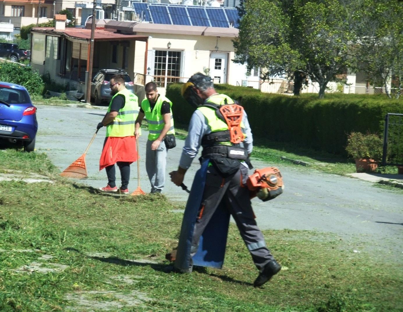 Η εβδομαδιαία ενημέρωση του Τμήματος Καθαριότητας του Δήμου Λάρνακας