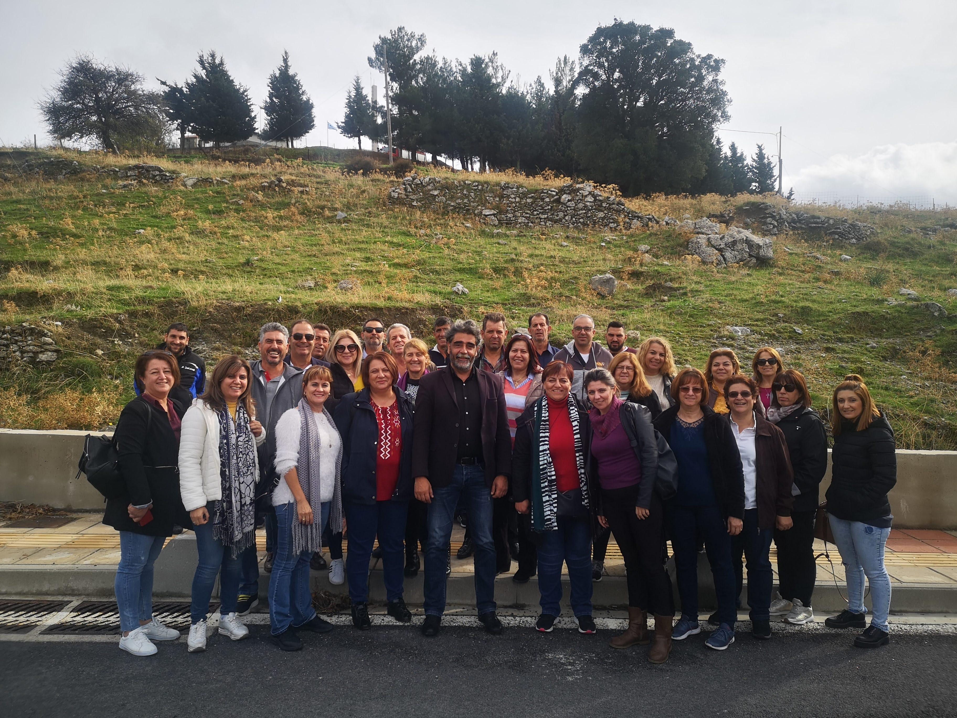 Εκπαιδευτικό ταξίδι στην Κρήτη για τον Σύλλογο Γυναικών Υπαίθρου Λάρνακας