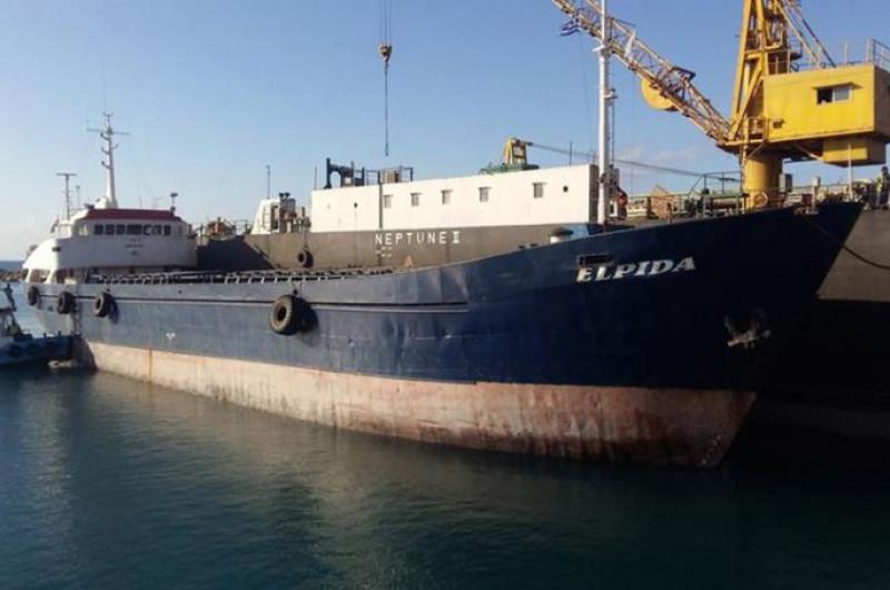 Αυτή την ώρα γίνεται η πόντιση του πλοίου ΕΛΠΙΔΑ στην Ορόκλινη