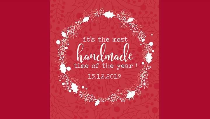 """Εκδήλωση """"It's the most handmade time of the year"""" από την Αναστασία και τον Γιώργο"""
