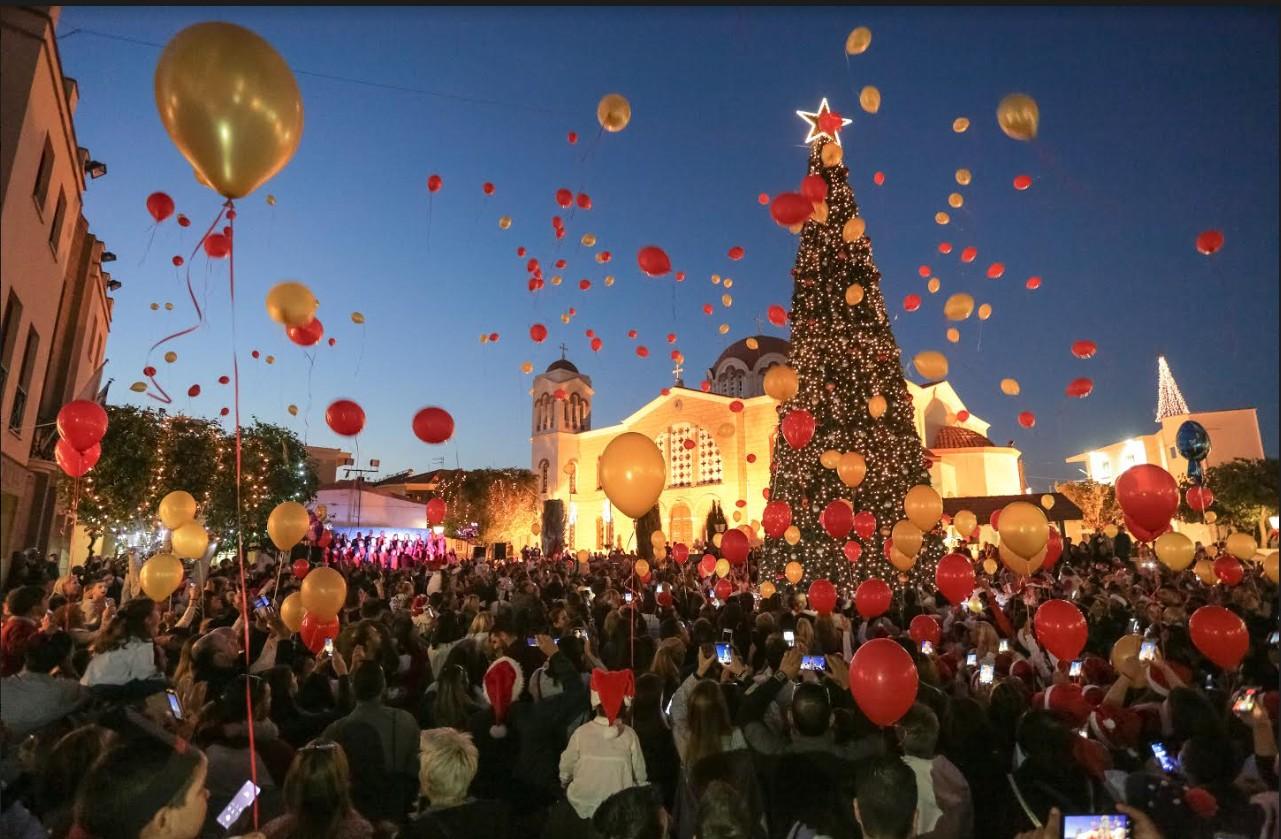 """Αύριο η """"Οδός Χριστουγέννων"""" στην Αραδίππου"""