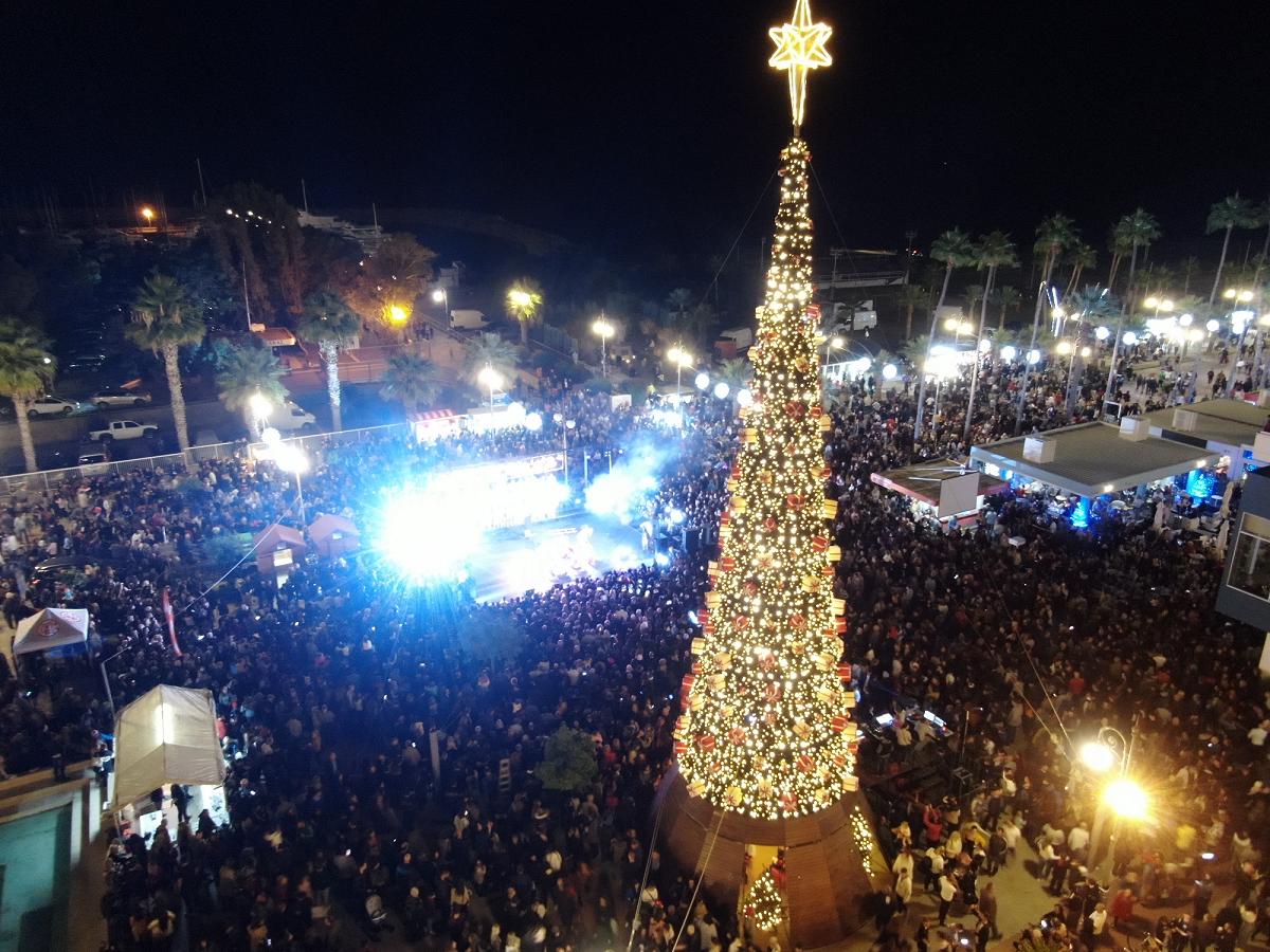 Το βίντεο του LarnakaOnline από την φωταγώγηση που έγινε viral