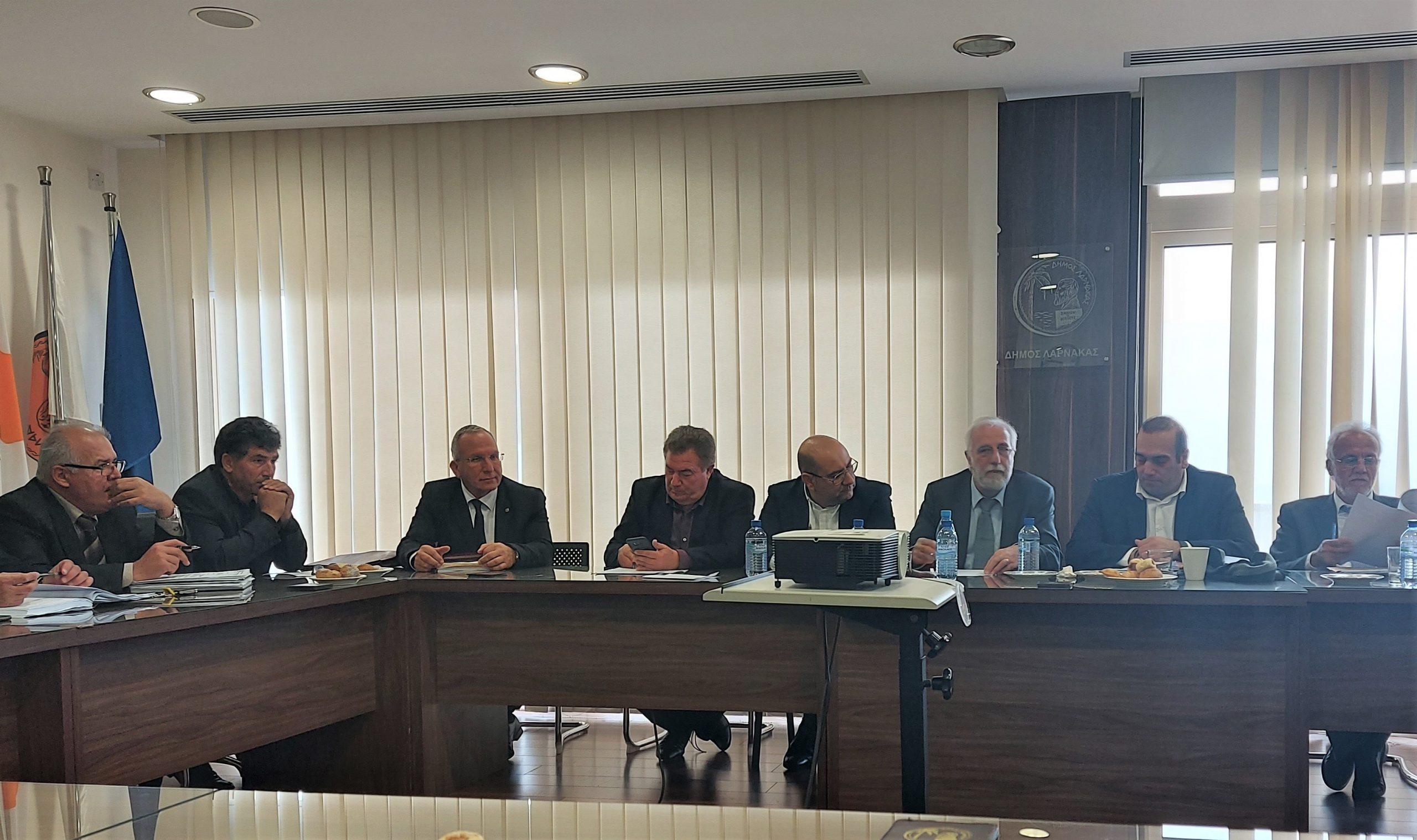 Συνάντηση ΕΤΑΠ Λάρνακας με τον Υπουργό Μεταφορών