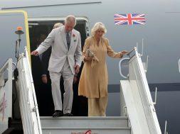 Prince of Wales and Duchess of Cornwall visit New Delhi