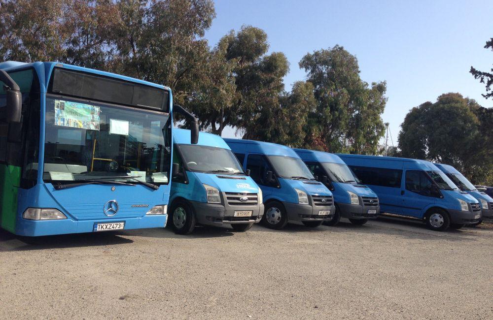 Με απόσυρση των οχημάτων τους απειλούν οι ιδιοκτήτες λεωφορείων της εταιρείας «Ζήνων» Λάρνακας