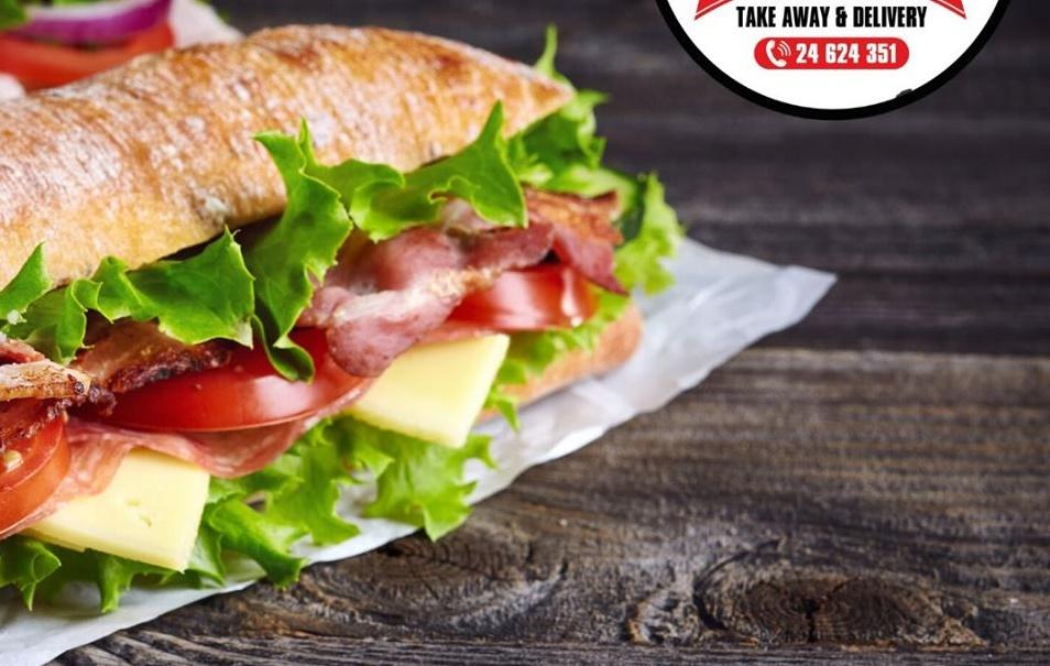 Ένα snack bar άνοιξε στη Λάρνακα και φτιάχνει sandwich με παστουρμά