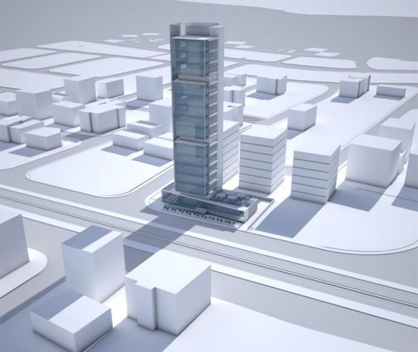Πράσινο σε νέο πολυώροφο κτήριο γραφείων στη Λάρνακα