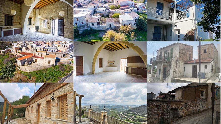 Ευκαιρίες με παραδοσιακές κατοικίες σε χωριά της Κύπρου (photos)