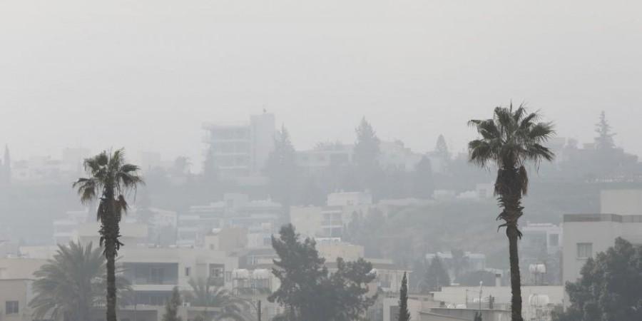 Αυξημένη σήμερα η σκόνη στην ατμόσφαιρα