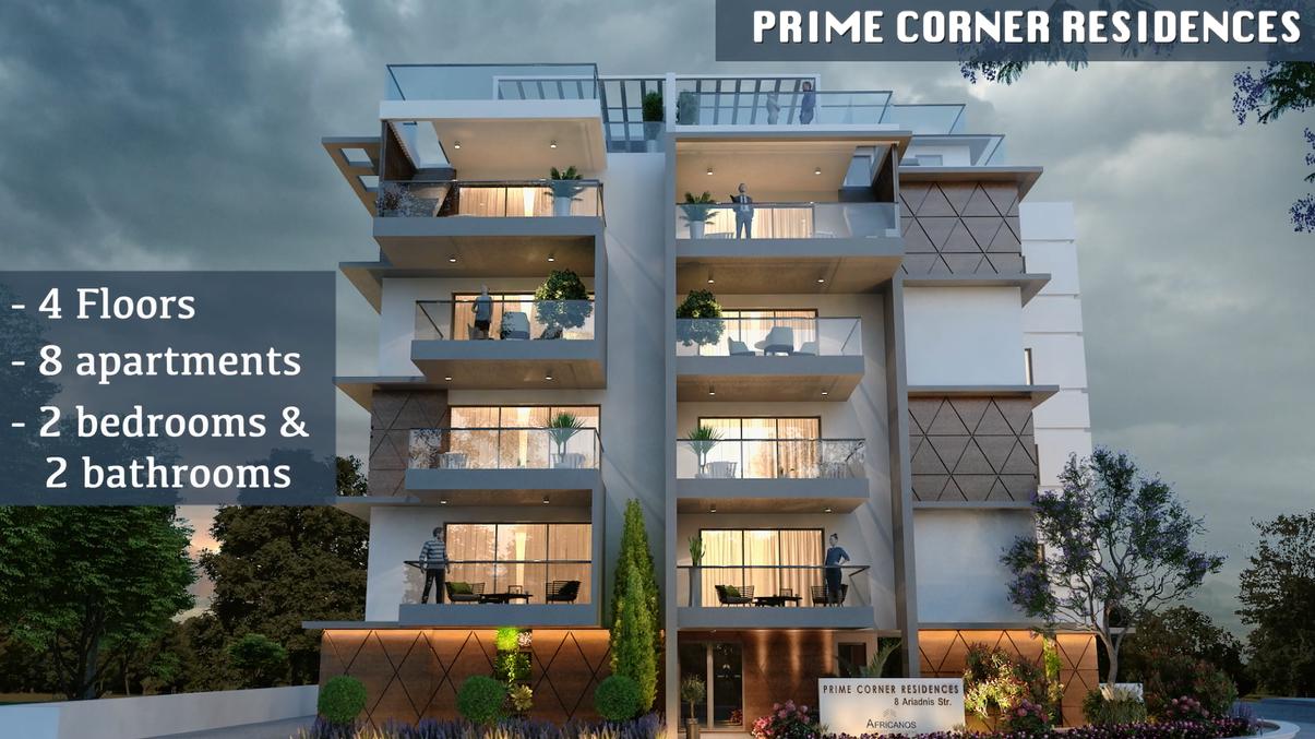 Africanos Property Developers : Έναρξη εργασιών για το έργο Prime Corner Residences