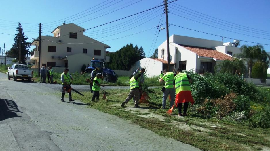 Kαθαρισμός ιδιωτικών οικοπέδων και άλλων ανοικτών χώρων στη Λάρνακα 2020