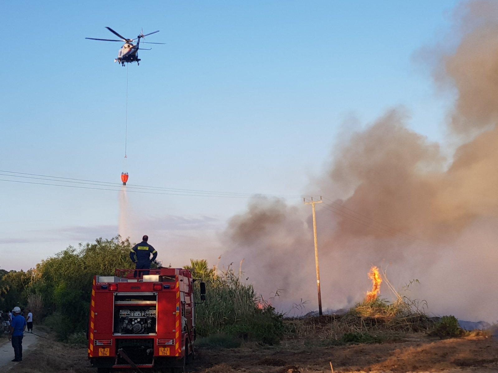 Τα αιτήματα της Πυροσβεστικής για την αλυκή Λάρνακας στο Τμήμα Περιβάλλοντος για έγκριση