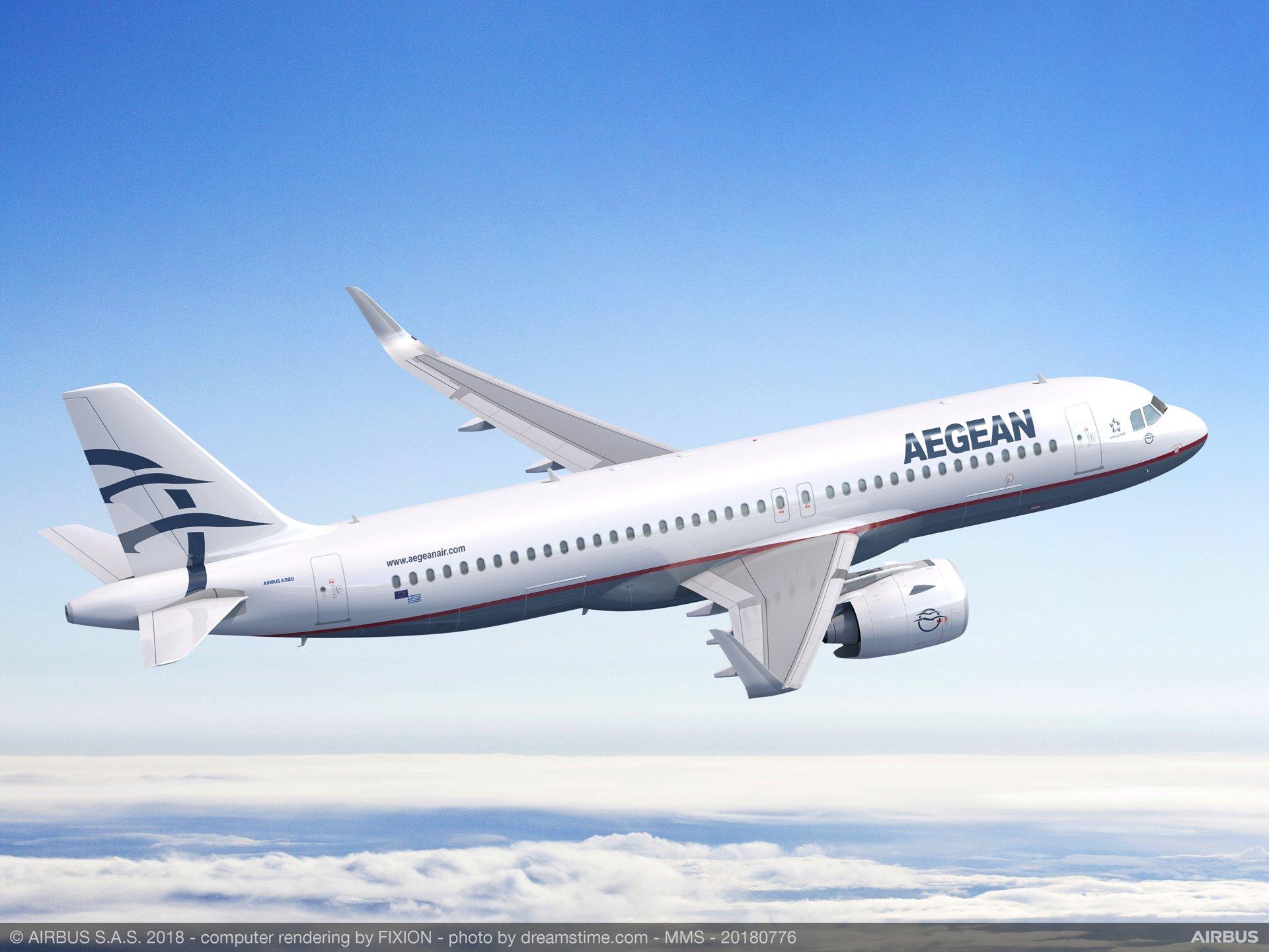 Η Aegean αρχίζει τις πτήσεις για Κύπρο