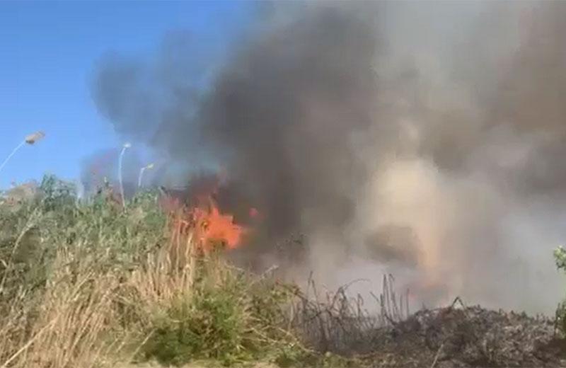 Λάρνακα: Δίνουν μάχη με τις φλόγες οι πυροσβέστες, θα μπουν και αεροπλάνα στη μάχη (videos)