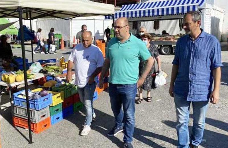 Ο Δήμος Λάρνακας δίπλα στους τοπικούς παραγωγούς της επαρχίας