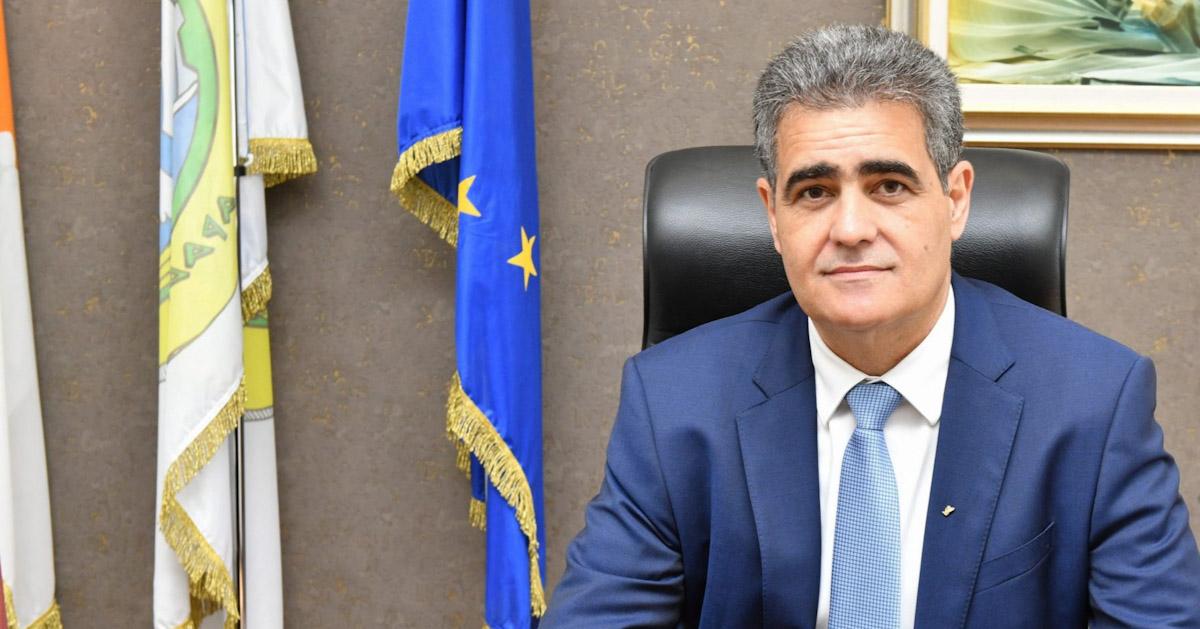 Ο Δήμαρχος Αραδίππου συγχαίρει τον Δημήτρη Φραντζέσκου και την οικογένεια του