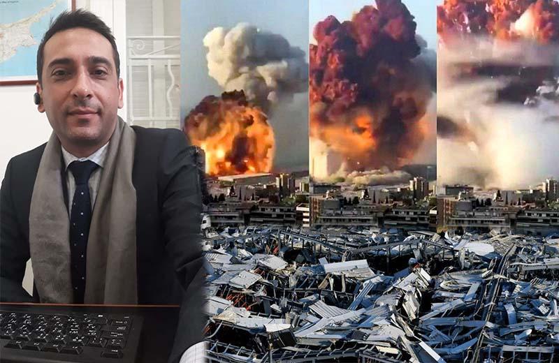 Ο συμπολίτης μας Ελπιδοφόρος Ηλία μας μιλά για τις τραγικές στιγμές που έζησε στο Λίβανο και αποκαλύπτει ότι είναι ζωντανός από θαύμα