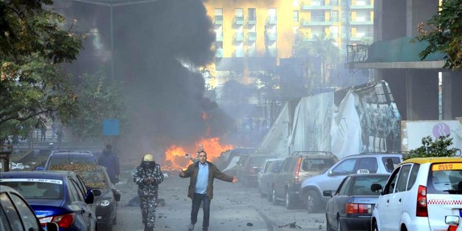 Καταστράφηκε ολοσχερώς η πρεσβεία της Κύπρου στη Βηρυτό