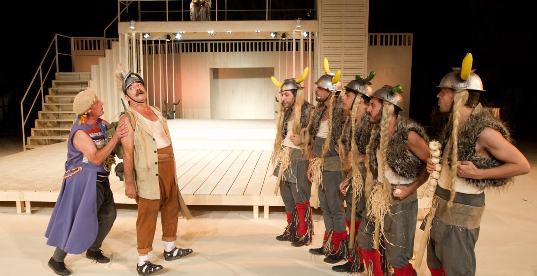 """""""Αχαρνείς"""" του Αριστοφάνη στο Παττίχειο Δημοτικό Αμφιθέατρο Λάρνακας"""