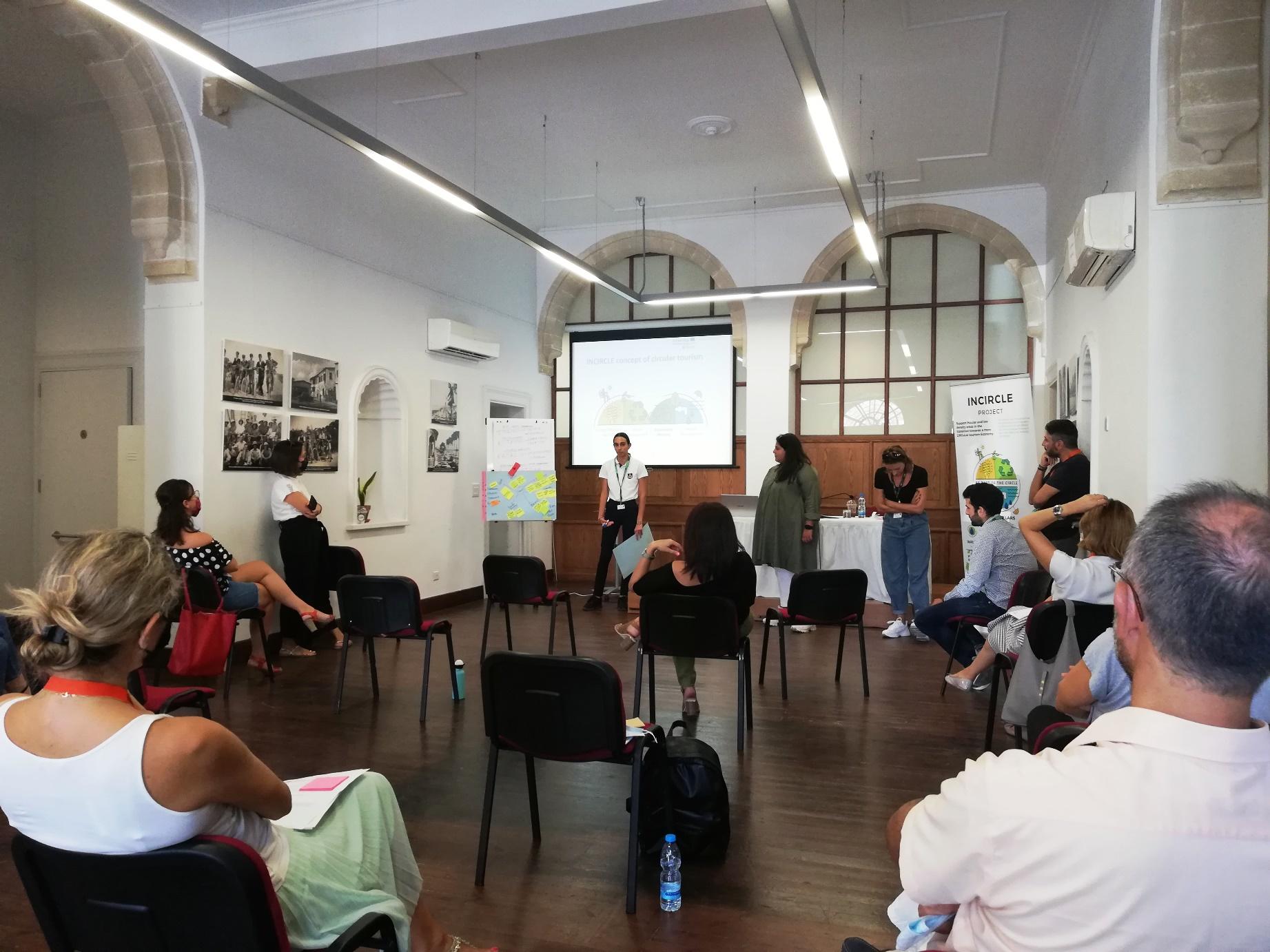 Με επιτυχία η πρώτη σύσκεψη Εμπειρογνωμόνων, Πολιτικών / Δημοτικών Αρχών και Δημοτών στη Λάρνακα (φώτο)
