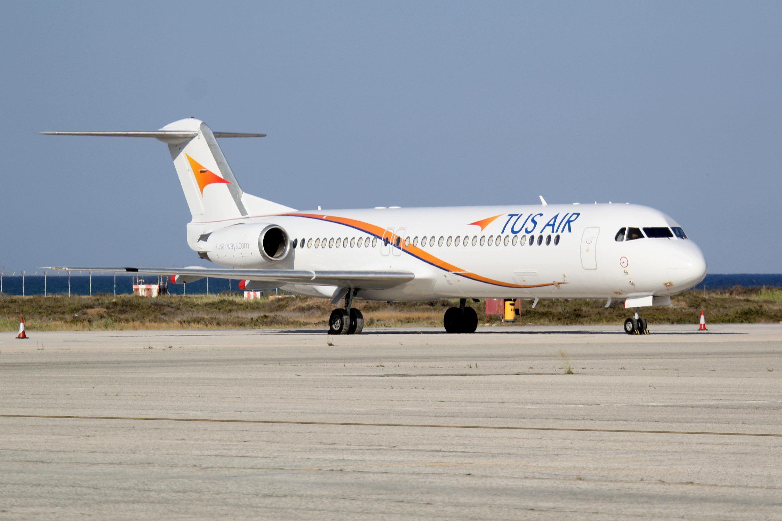 Αναστολή άδειας εργασιών της TUS Airways!
