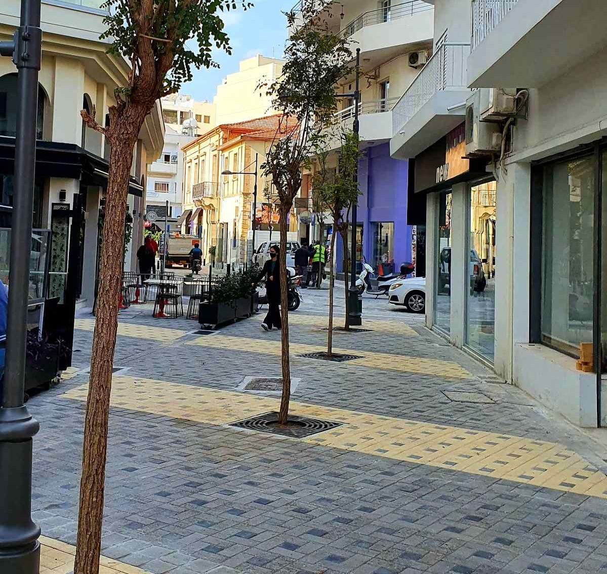 Αλλάζει το εμπορικό κέντρο της Λάρνακας να με την ανάπλαση δρόμων  και πεζοδρομίων