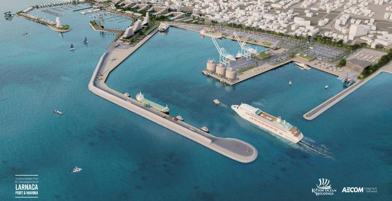 Αναβολή υπογραφών για Λιμάνι και Μαρίνα Λάρνακας λόγω Covid