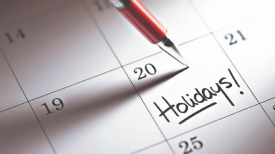 Αργίες 2021: Πέντε τριήμερα το νέο έτος