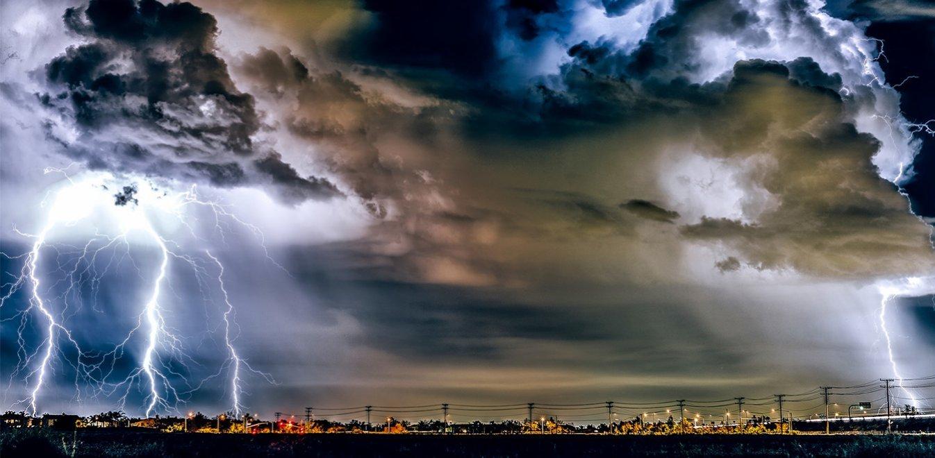 Κίτρινη προειδοποίηση για ισχυρές καταιγίδες