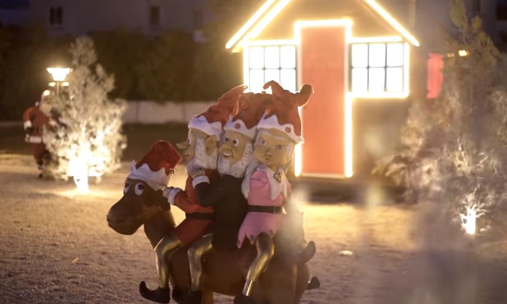 Στον Δήμο Αραδίππου, στήθηκε και φέτος ένα μίνι χριστουγεννιάτικο χωριό