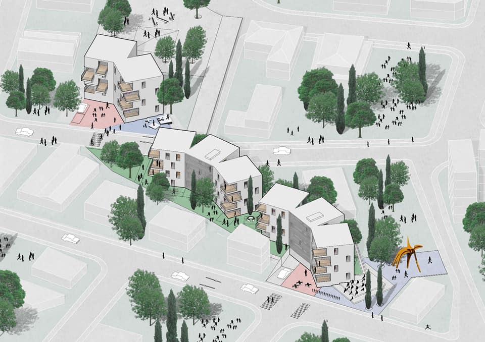 Συγκρότημα κοινωνικής κατοικίας στη Λάρνακα (ΦΩΤΟ)