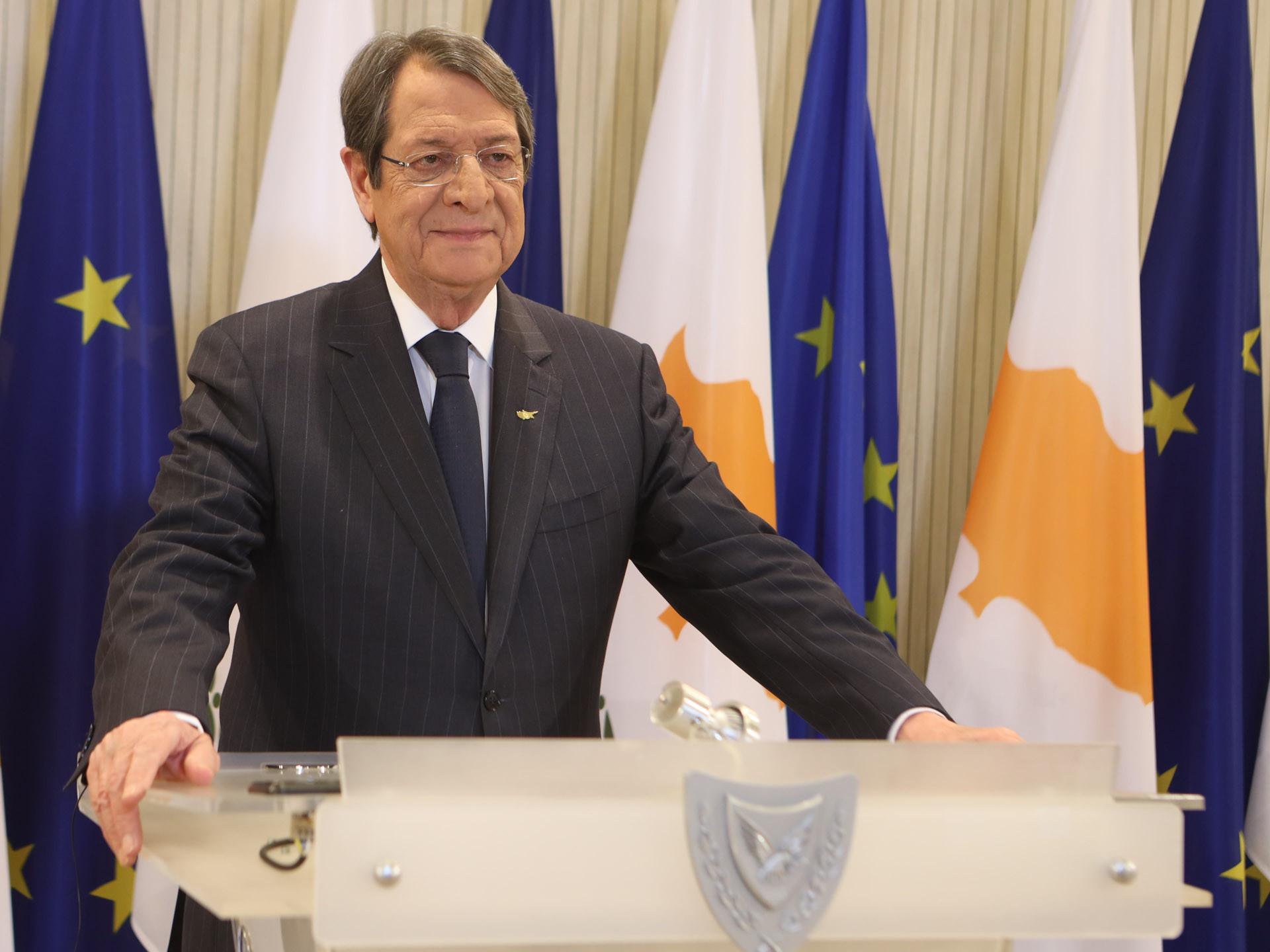 Αναστασιάδης: Παρουσιάζει τα μέτρα κατά της διαφθοράς- Η ομιλία του