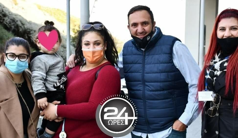 Αερ.ΛΑΡΝΑΚΑΣ: Επέστρεψε στην αγκαλιά της μητέρας του ο μικρός Ιωσήφ (ΦΩΤΟ)