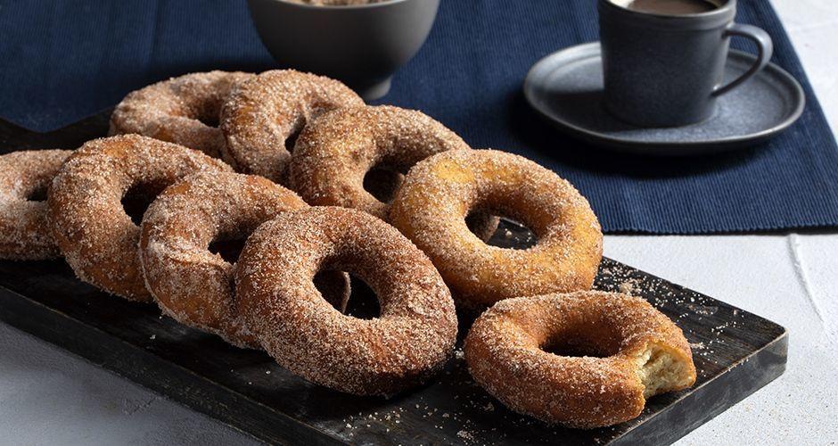 Πως να φτιάξεις νόστιμα αλμυρά donuts χωρίς βούτυρο