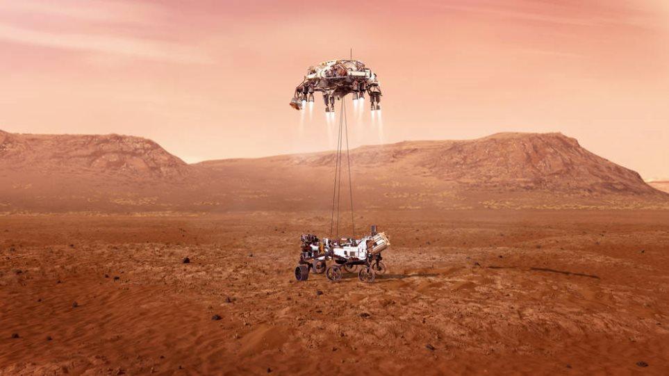 Δείτε το βίντεο της NASA – Οι πρώτες εικόνες από τον Άρη