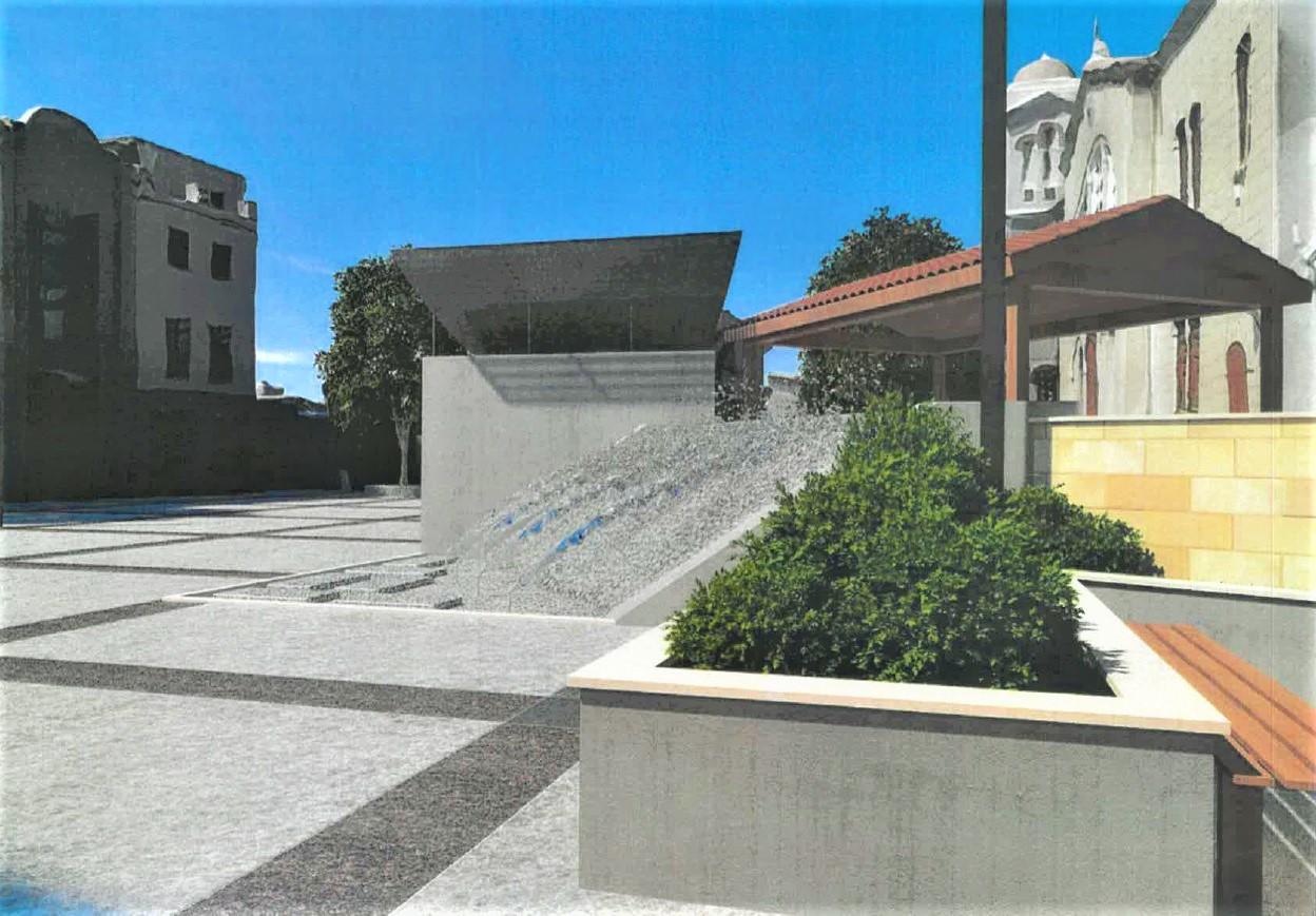 Αρχίζει η ανάπλαση της Πλατείας Αποστόλου Λουκά στην Αραδίππου