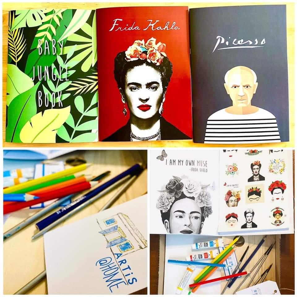 Τα κουτάκια τέχνης του ARTIS της Κατερίνας Σταύρου για δημιουργικές μέρες στο σπίτι