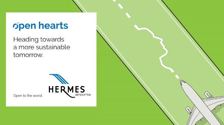 """Νέες """"πράσινες τεχνολογίες"""" από την Hermes Airports"""