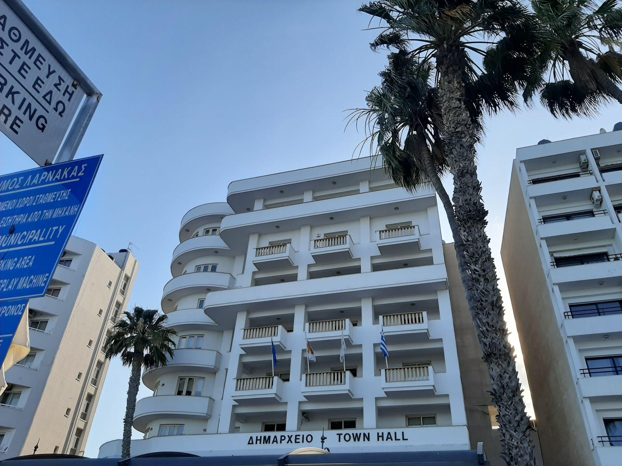 Ο Δήμος Λάρνακας τοποθέτησε μηχανή έκδοσης εισιτηρίων στον δημοτικό χώρο στάθμευσης στη Λεωφ. Τάσου Μητσόπουλου