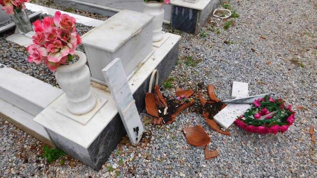 Συνεχίζονται οι κλοπές στα κοιμητήρια της Βορόκληνης